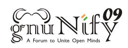 GNUnify 09 Logo